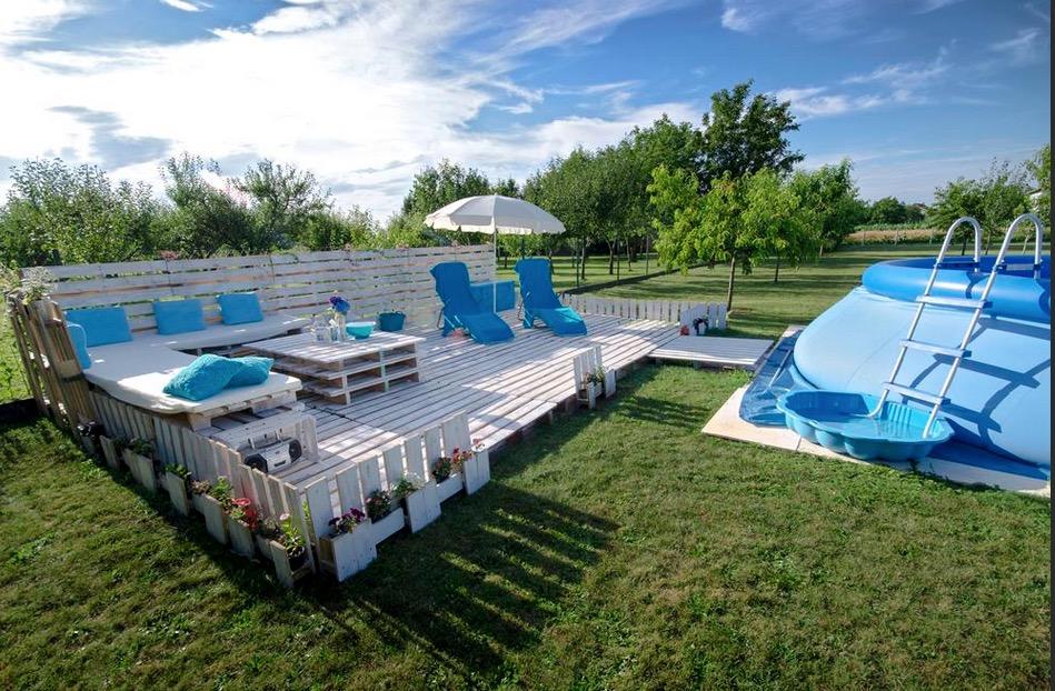 Tuto pour créer une terrasse en palettes