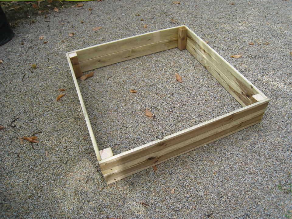 Tuto pour créer un carré potager en lame de terrasse